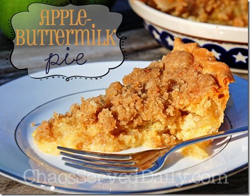 Apple-Buttermilk-Pie