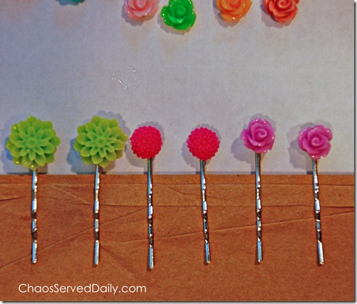 Hairpins-Drying