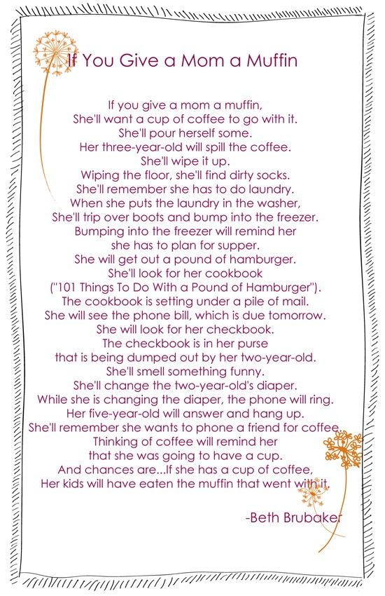 Cinnamon Raspberry Muffins…and a Poem | Chaos Served Daily
