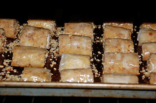 Simple Rolled Baklava Chaos Served Daily