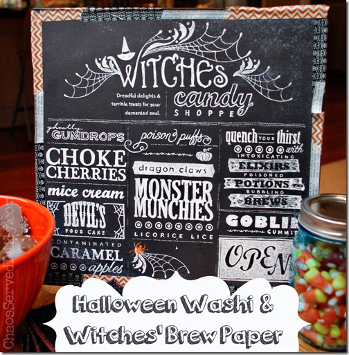 Witches Brew Chaos Served Daily