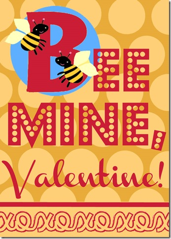 Bee Mine Red